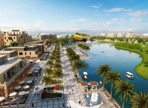 master planning renderings- resort- Dubai