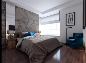 Interior rendering - Bed room