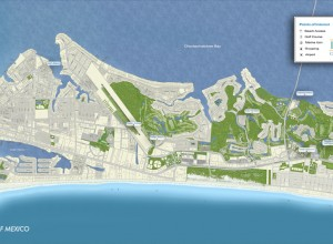 Destin Beach Community Map
