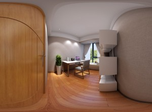 360 Degree Spherical Panorama Rendering