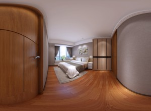 360 interior spherical panorama